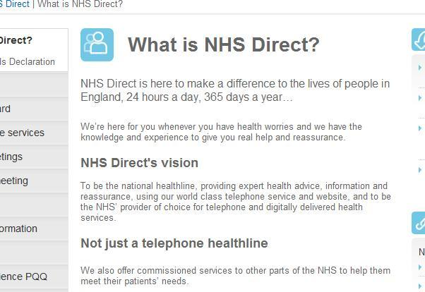 What_is_nhs_direct
