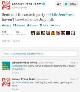 Labour Party Twitter Banter