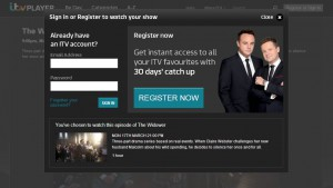 The ITV Player requires some user data to watch content (for free) - a valuable exchange?