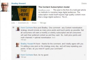 Content monetisation strategies should include many price points and touch points