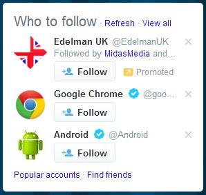 Who to follow on Twitter: spot the sponsored account