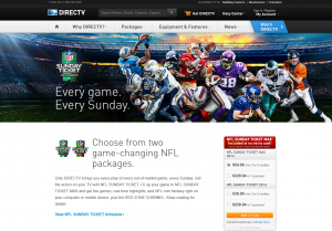 DirectTV - offers every American Football match simultaneously
