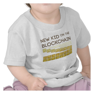 Get your Blockchain T-shirt here while it's still cool