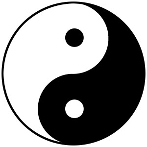 Top tip: Find a ying to your newly found yang, or a yang to your new ying