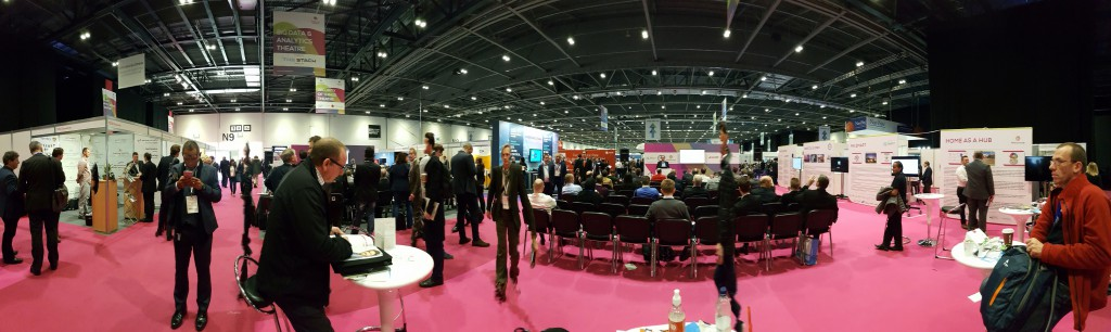 Smart IoT 2016 exhibition panoramic
