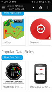What's the difference between an app, Application, Data Field and widget? No idea.