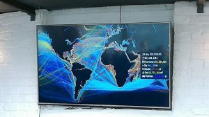 Shipping and sea routes - see the big data example below