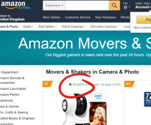 Amazon movers and shakers April 2020